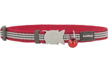 Red Dingo Cat Collar Fang It Red CC-FG-RE