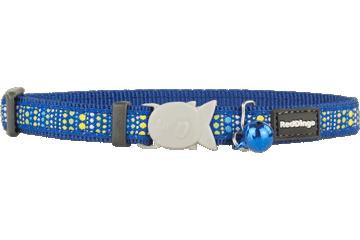 Red Dingo Cat Collar Lotzadotz Dark Blue CC-LD-DB