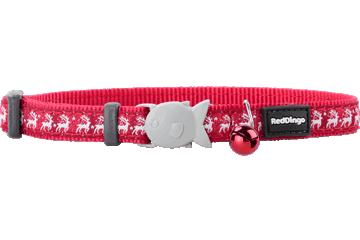 Red Dingo Cat Collar Reindeer Red CC-RD-RE