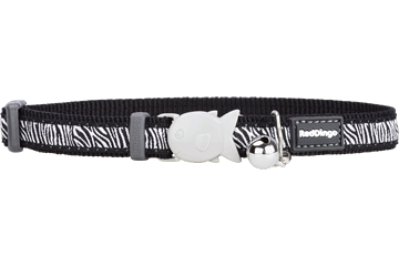 Red Dingo Cat Collar Safari Black CC-SA-BB