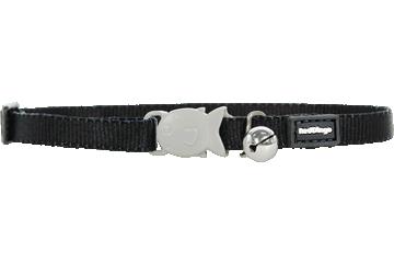 Red Dingo Kitten Collar Classic Noire CC-ZZ-BB-XS