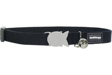 Red Dingo Cat Collar Classic Black CC-ZZ-BB