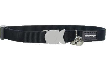 Red Dingo Cat Collar Classic Black CC-ZZ-BB