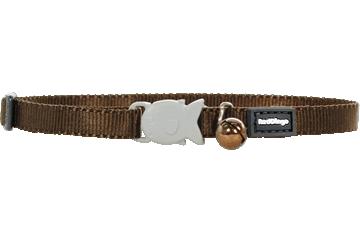Red Dingo Kitten Collar Classic Brown CC-ZZ-BR-XS
