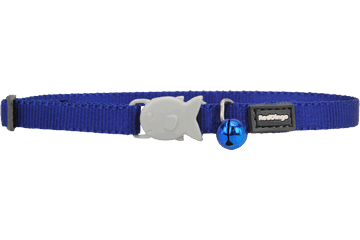 Red Dingo Kitten Collar Classic Bleu Foncé CC-ZZ-DB-XS