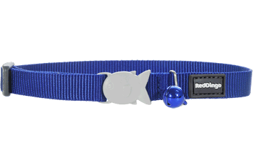 Red Dingo Cat Collar Classic Dark Blue CC-ZZ-DB