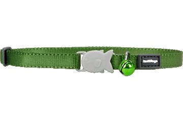 Red Dingo Kitten Collar Classic Green CC-ZZ-GR-XS