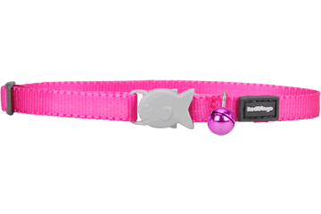 Red Dingo Kitten Collar Classic Hot Pink CC-ZZ-HP-XS