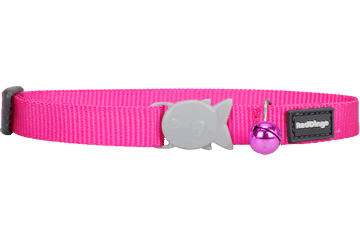 Red Dingo Cat Collar Klassiek fel-roze CC-ZZ-HP