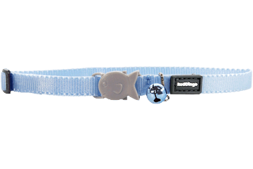 Red Dingo Kitten Collar Classic Light Blue CC-ZZ-LB-XS