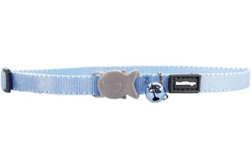 Red Dingo Kitten Collar Classic Light Blue CC-ZZ-LB-XS