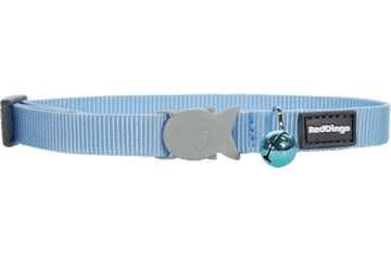 Red Dingo Cat Collar Classic Light Blue CC-ZZ-LB