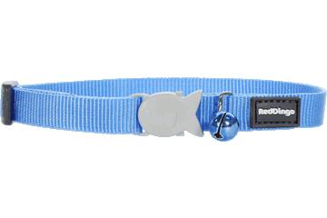 Red Dingo Cat Collar Classic Medium Blue CC-ZZ-MB