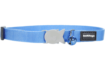 Red Dingo Cat Collar Classic Medium Blue CC-ZZ-MB