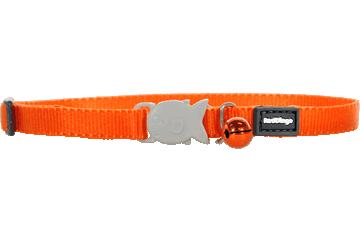 Red Dingo Kitten Collar Classic Orange CC-ZZ-OR-XS