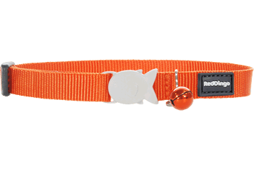 Red Dingo Collier pour chat Classique Orange CC-ZZ-OR