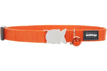 Red Dingo Cat Collar Classic Orange CC-ZZ-OR
