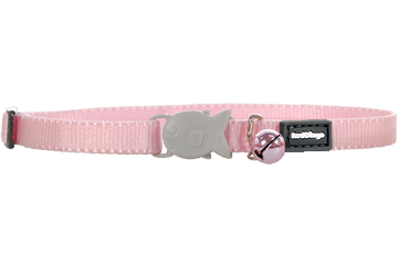 Red Dingo Kitten Collar Classic Rosa CC-ZZ-PK-XS