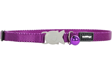 Red Dingo Kittenhalsband Klassiek purper CC-ZZ-PU-XS