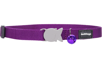 Red Dingo Cat Collar Classic Purple CC-ZZ-PU