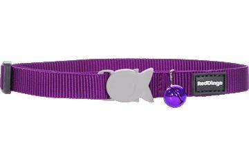 Red Dingo Cat Collar Classic Purple CC-ZZ-PU