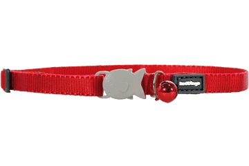 Red Dingo Kittenhalsband Klassiek rood CC-ZZ-RE-XS