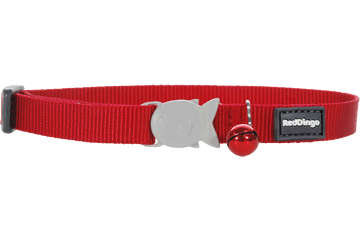 Red Dingo Cat Collar Klassiek rood CC-ZZ-RE