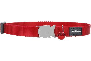 Red Dingo Cat Collar Classic Red CC-ZZ-RE
