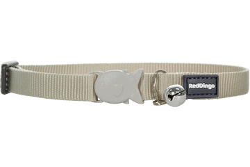 Red Dingo Cat Collar Classic Silver CC-ZZ-SI (CC504 / KC504)