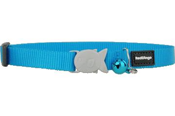 Red Dingo Cat Collar Classic Turquoise CC-ZZ-TQ