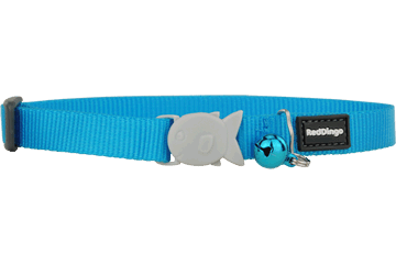 Red Dingo Cat Collar Classic Turquoise CC-ZZ-TQ