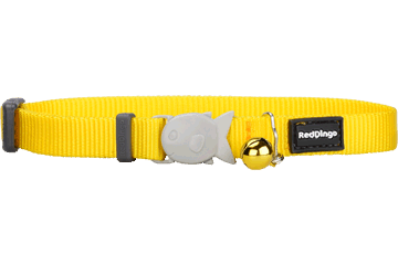 Red Dingo Cat Collar Classic Yellow CC-ZZ-YE