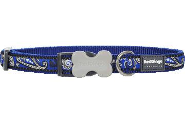 Red Dingo Dog Collar Bandana Dark Blue DC-BA-DB