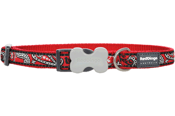 Red Dingo Dog Collar Bandana Red DC-BA-RE