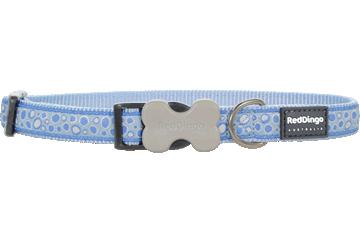 Red Dingo Dog Collar Bedrock Light Blue DC-BE-LB