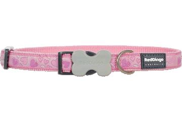 Red Dingo Dog Collar Breezy Love Pink DC-BZ-PK