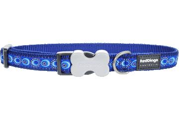 Red Dingo Dog Collar Cosmos Dark Blue DC-CO-DB