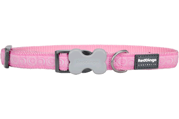 Red Dingo Dog Collar Cosmos Pink DC-CO-PK