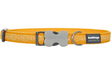 Red Dingo Dog Collar Cosmos Yellow DC-CO-YE