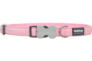 Red Dingo Hundehalsband Daisy Chain Pink DC-DC-PK