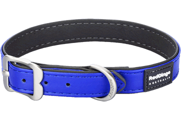 Red Dingo Dog Collar Elegant Dark Blue DC-EL-DB