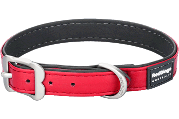 Red Dingo Dog Collar Elegant Rosso DC-EL-RE