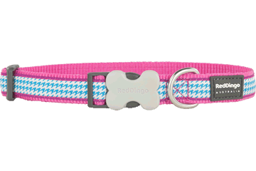Red Dingo Dog Collar Fang It Hot Pink DC-FG-HP