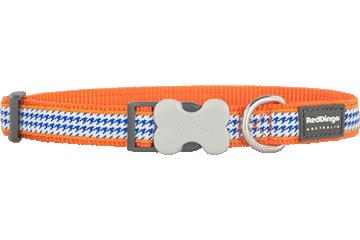 Red Dingo Dog Collar Fang It Orange DC-FG-OR