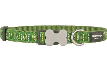 Red Dingo Hondenhalsband Lotzadotz groen DC-LD-GR