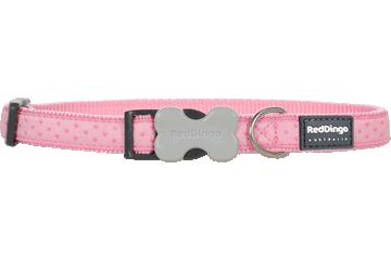 Red Dingo Dog Collar Love Sprinkles Pink DC-LS-PK
