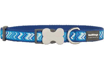 Red Dingo Dog Collar Pizzazz Dark Blue DC-PZ-DB