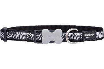Red Dingo Dog Collar Safari Black DC-SA-BB