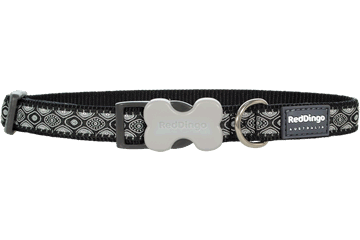 Red Dingo Dog Collar Snake Eyes Black DC-SE-BB