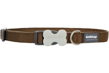 Red Dingo Dog Collar Classic Marrone DC-ZZ-BR